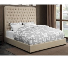 Camille Queen Upholstered Bed Frame