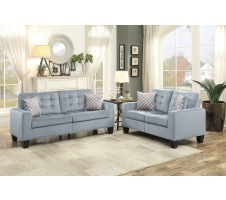 SALE! 9957GY Lantana 2pc. Sofa and Loveseat Set