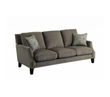 Crystal Sofa  with nail head trim