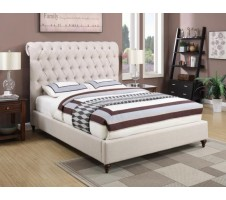Roselyn Queen Tufted Bed Frame