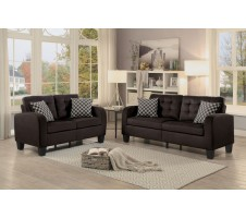 Lorian Sofa and Loveseat