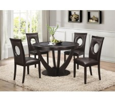 STAPLETON CAPPUCCINO 5 PCS DINING TABLE SETS