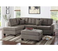 Radcliff 2pc Sectional and Ottoman