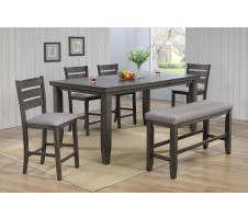 Bardstown 5pc. Counter Height Dining in Grey