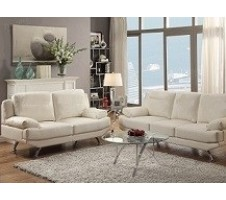 Hatton 2pc. Sofa and Loveseat in ivory