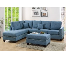 Lisbore 2pc. Sectional in Blue