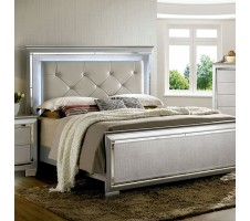 Hollywood Queen Bed Frame with LED lights