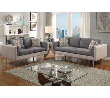 Claxton Sofa and Loveseat set