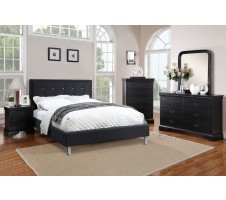Zuria 4pc Queen Platform Bedroom set