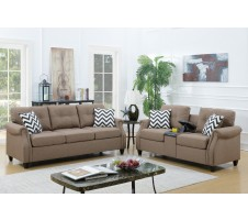 SALE! Nolan 2pc. Sofa and Loveseat with USB Console
