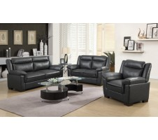 Century 2pc. Sofa and Loveseat Set in Grey