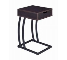 Roy Side Table with Power Strip and USB Ports