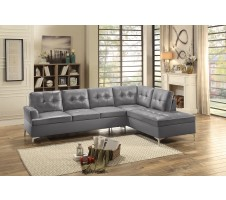 Barrington Sectional in grey