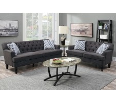 Amelia 2pc Sofa and Loveseat Set