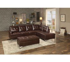 Barrington Sectional in Brown