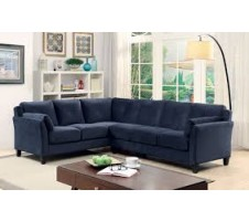 Hailey Sectional in  blue