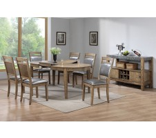 Harmon 7pc Dining Set with Butterfly Leaf