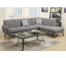 Uptown Sectional in grey