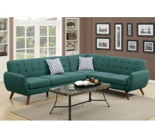 Manhattan 2pc. Sectional in Laguna Blue