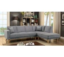 Hagen Sectional in grey