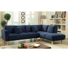 Hagen Sectional in navy