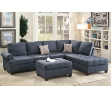 Metropolis 2-piece Sectional