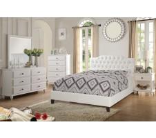 Crystal 4pc. Queen Platform Bedroom set