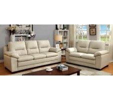 Parma 2pc. Sofa and Loveseat in Ivory