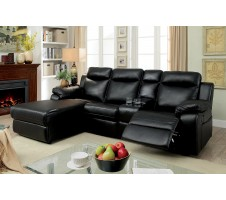 Clark Sectional with recliner and Console