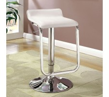 Amsterdam Adjustable Barstools in white