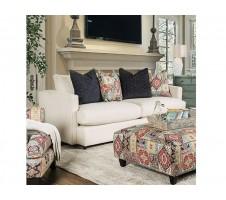 Pomfret Beige Textured Chenille Sofa