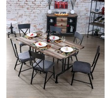Brixton I 7pc. Dining Set