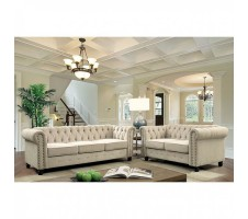 SALE! Winfred 2pc. Sofa and Loveseat in Ivory