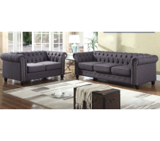 SALE! Winfred 2pc. Sofa and Loveseat in Gray
