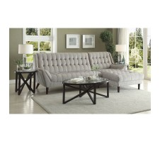 Ariel 2pc. Sectional in light grey