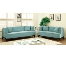 Inez Sofa and Loveseat -light blue