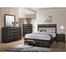 Zaphir 4pc. Queen Platform Bedroom Set