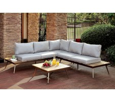Evita Patio Sectional with Corner Chair