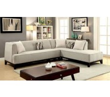 Sophia L Shaped Sectional in beige