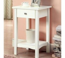 Cort end table with drawer