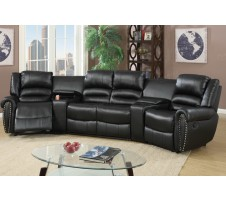 Aries 5pcs Reclining Home Theater Sectional