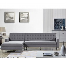 Clovis Sectional in grey