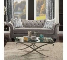 Antoniette II Sofa in Dove Grey