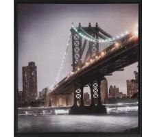 Bridge and Skyline Art