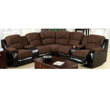 Walcott Sectional with Recliners