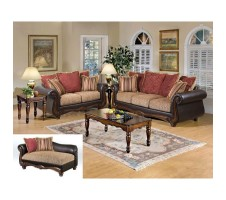 Florence 2pcs Sofa and Loveseat set
