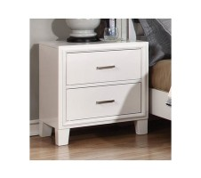 Norway Nightstand in white