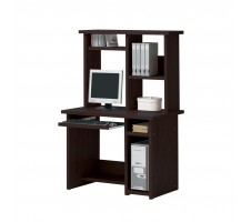 Linda Expresso Finish Desk with Hutch