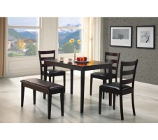 Astor Cappuccino Finish Dining Set