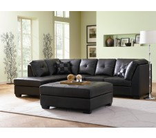 Melika Bonded Leather Sectional Sofa